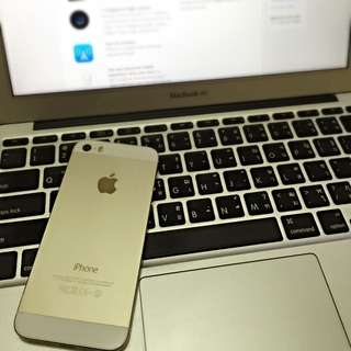IPHONE 5S 32GB ROSE GOLD SECOND