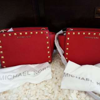 michaelkors selma studded medium