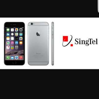 Singtel Iphone 6s/6s Plus Recontract