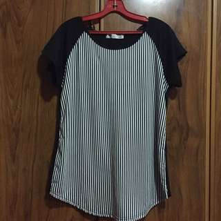 Temt Casual Stripes Top