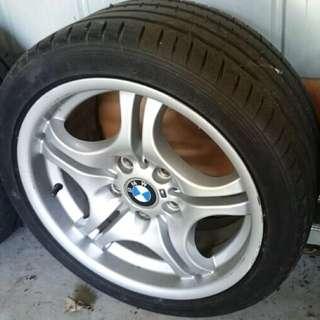 BMW Wheels x4