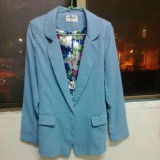 💲保留中💲 水藍色 西裝外套