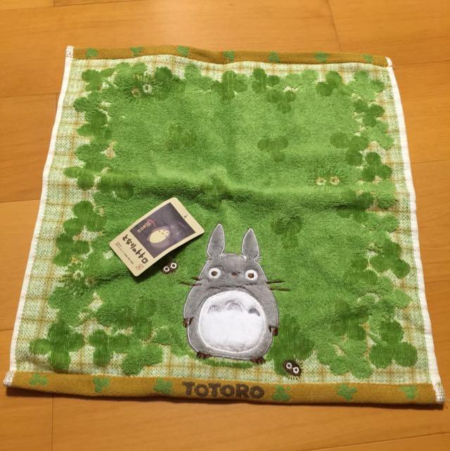 豆豆龍質感柔軟方形毛巾
