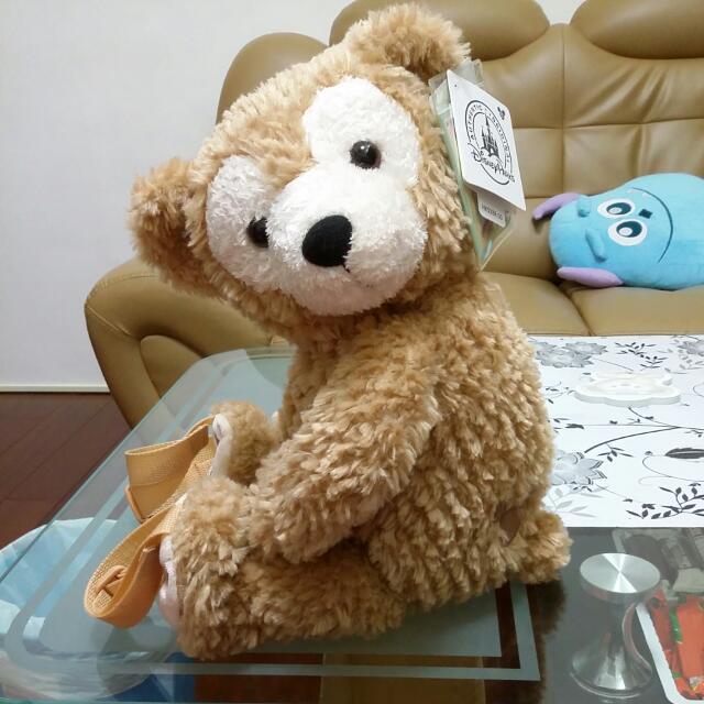 (全新)達菲熊背包