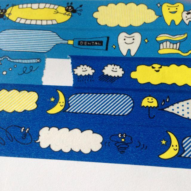 東急 牙齒 天氣 對話框 紙膠帶 分裝