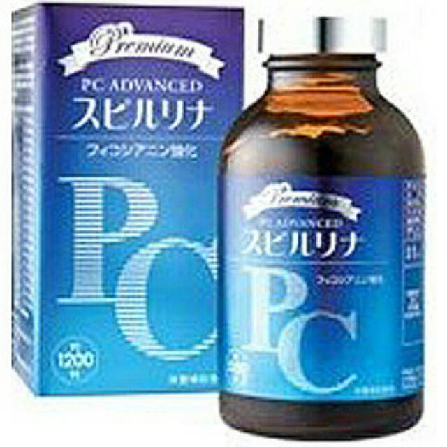 會昌 日本原裝 藻青苷 PC 特級螺旋藻錠 240g/1200錠/瓶 買2大送2小