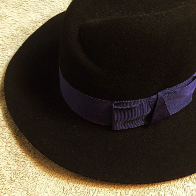 東區黑色毛呢帽 (Korea)