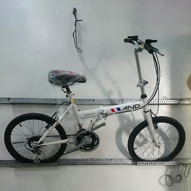 AND A-20 小折  折疊腳踏車