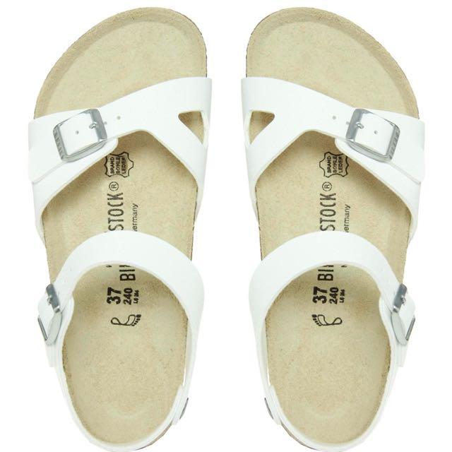 (待匯款)Birkenstock勃肯 Rio款 (涼鞋)白色 39號