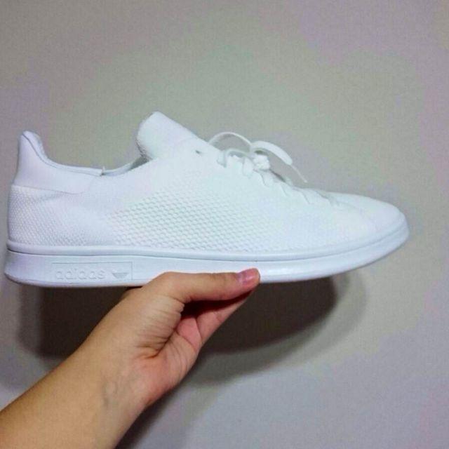 buy popular 4aabd 9d39e Customer's Order (Adidas Stan Smith Primeknit Triple White ...