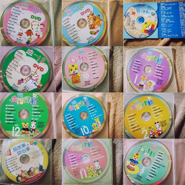 巧虎DVD,CD二手