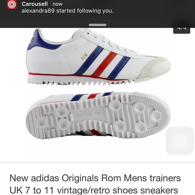 aef05a1c8f85d8 Looking For Adidas Rom Blue Red Stripe Size 7 7.5uk