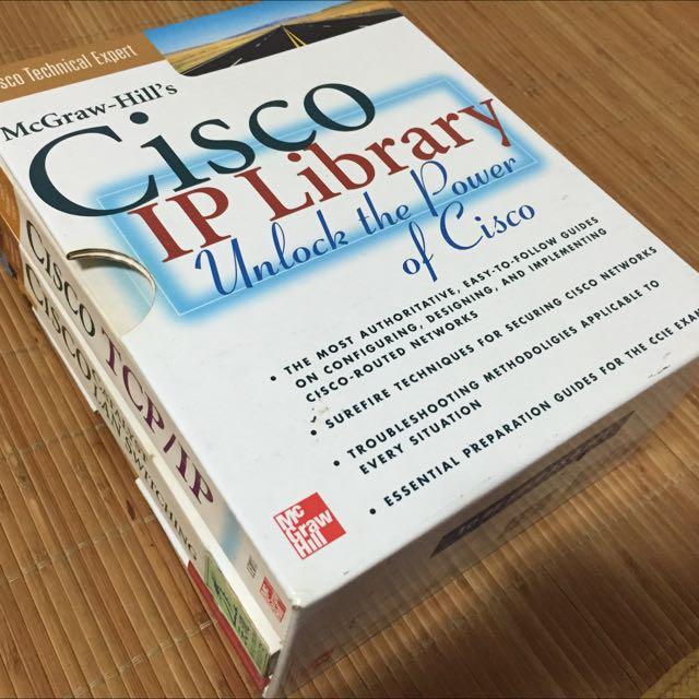 MCGRAW HILL's Cisco IP Library 一套三本+一本LAN Switching