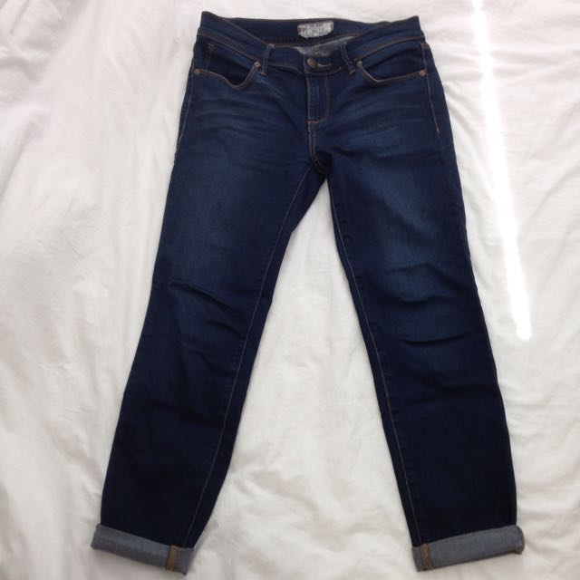Midrise Skinny Jeans