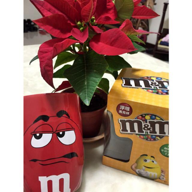 M&M's巧克力浮雕馬克杯組