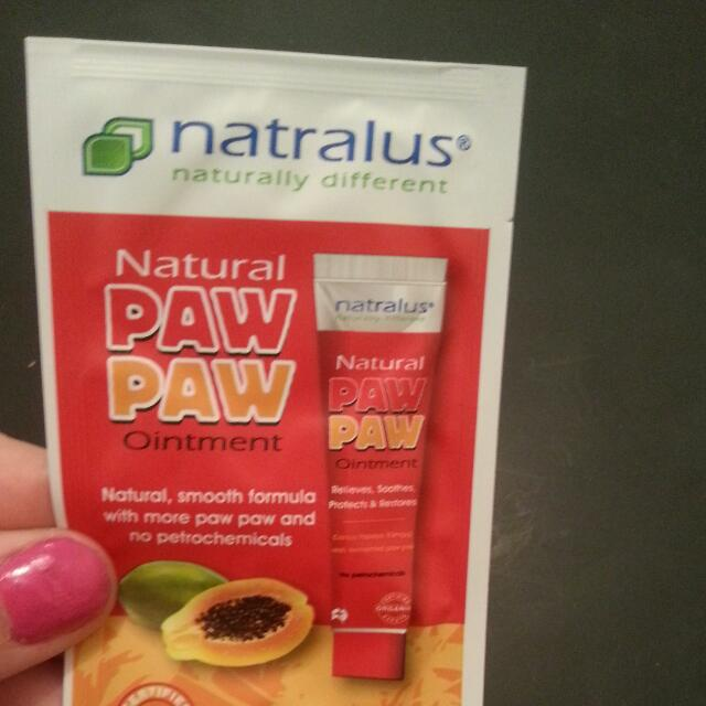 Naturally Paw Paw Ointment Sample