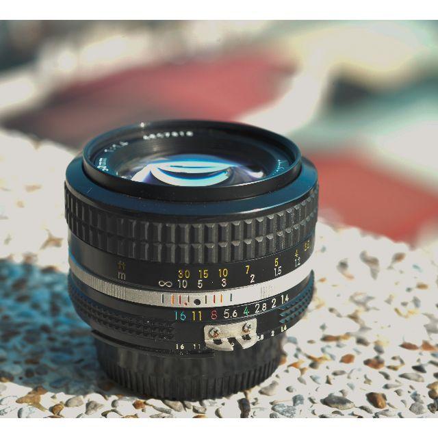 NIKON AI 50mm F1.4 手動鏡頭
