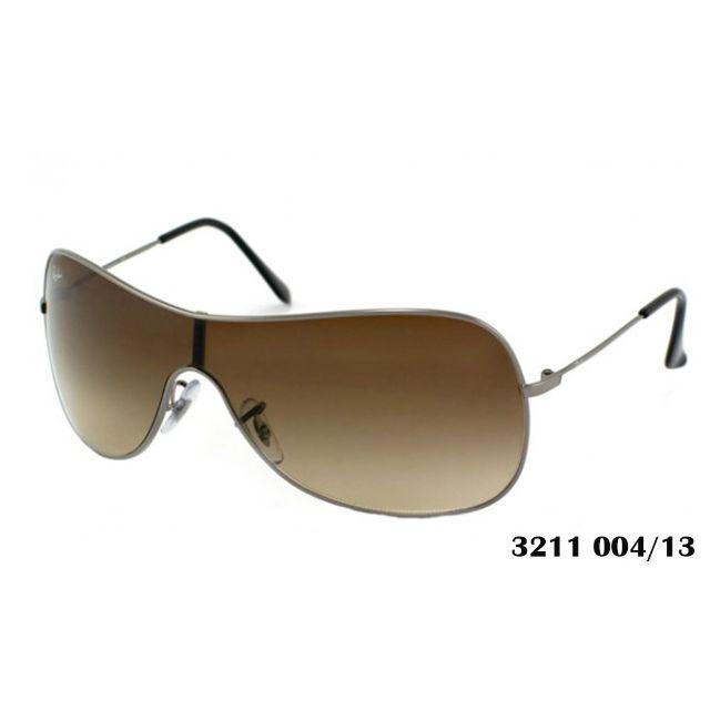 2388ded4d Rayban Highstreet Sunglasses, 3211 004/13 (Gunmetal Frame, Brown ...