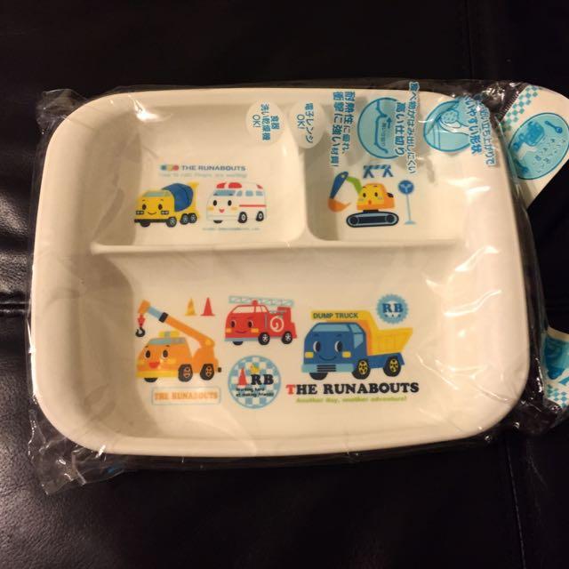 Sanrio日本三麗歐車子餐盤
