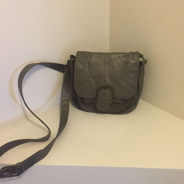 Taupe Shoulder/cross Body Bag