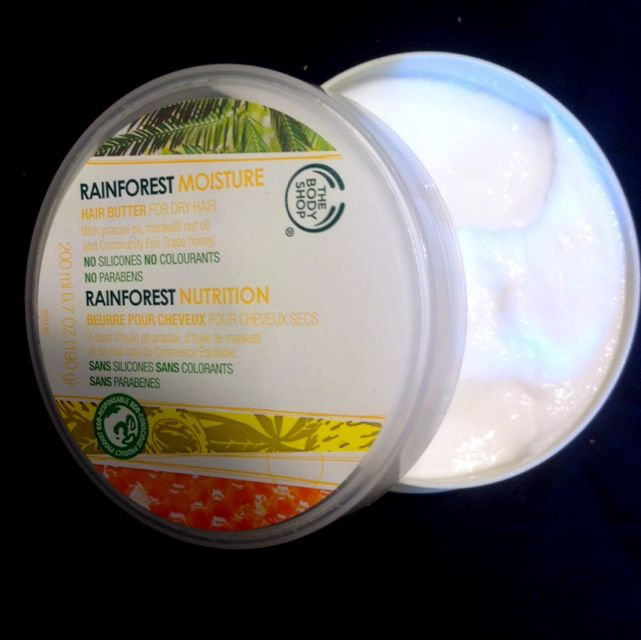 The Body Shop Rainforest Moisture Hair Butter