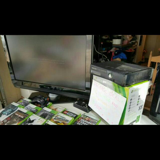 Xbox 360 Gaming Package