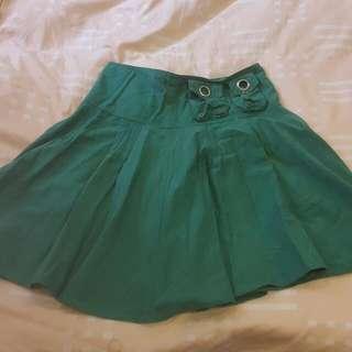 《出清出清》abcd品牌·女單一尺寸·綠色造型圓裙