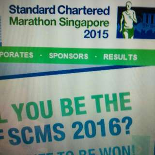 1 x Standard Chartered Marathon SCM 2015 Promo Code (Any Category)