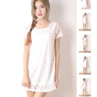 Sweet Crochet Dress