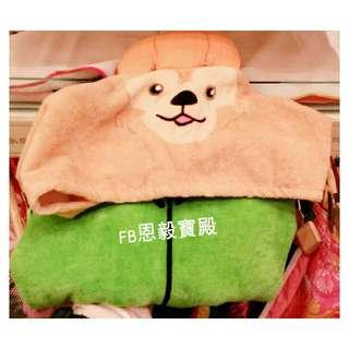 已售完(SALE折扣品)♡香港迪士尼- 萬聖限定 Duffy 達菲熊 連帽浴衣 兒童款