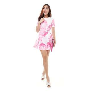 MDS - Dion Short Dress in Pink