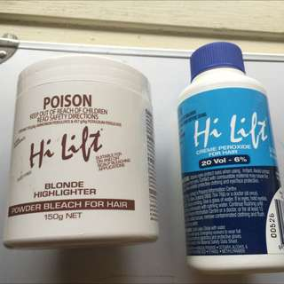 Brand New Powder Bleach & Creme