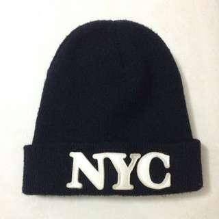 Style Nanda NYC 毛帽 黑 美式 二手 出清