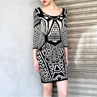 Doublewoot Midi Dress (Knitted Material)
