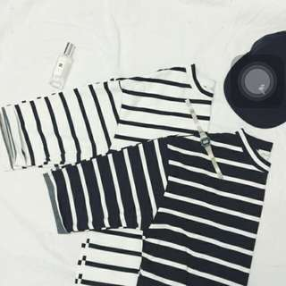 Basic Black & White T-shirt