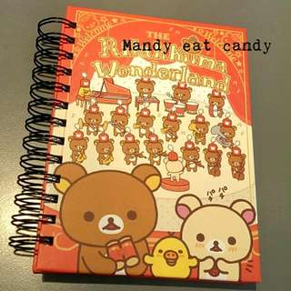 Rilakkuma 拉拉熊 超厚線圈筆記本