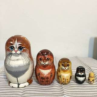 俄羅斯娃娃 - 貓咪