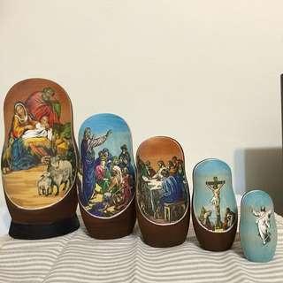 俄羅斯娃娃 - 耶穌的故事