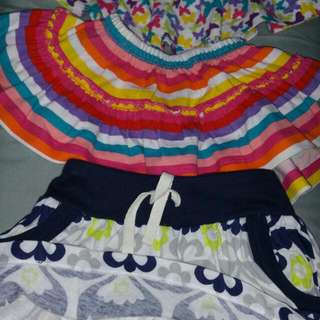 Pre-loved baby skirt up To 6mth