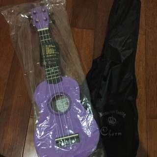 紫色烏克麗麗 21吋 全新 僅試彈