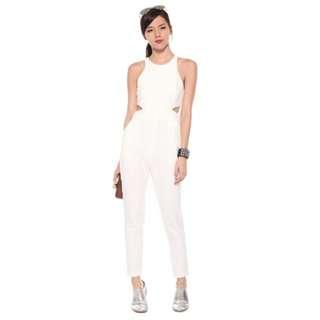 BNWT Love Bonito Yolanda Jumpsuit Size S in White