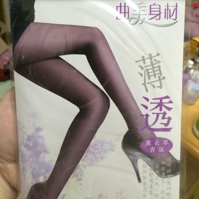 黑色透膚絲襪全新五入