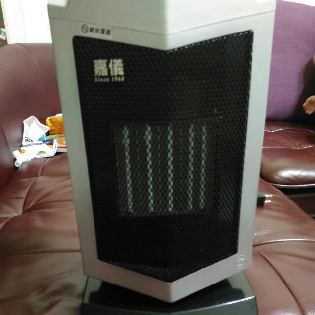 (九成新)嘉儀電暖器