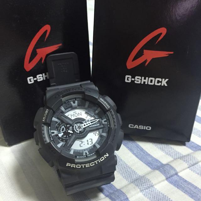 含運費G-Shock 深灰魂錶