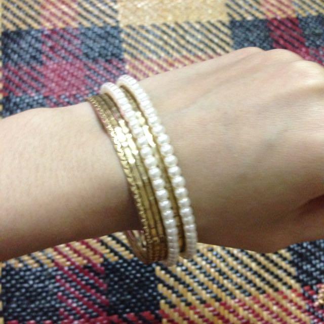 珍珠造型手環 手鍊 韓風