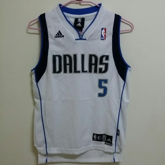 青年版 NBA Dallas 達拉斯小牛隊 電繡 球衣