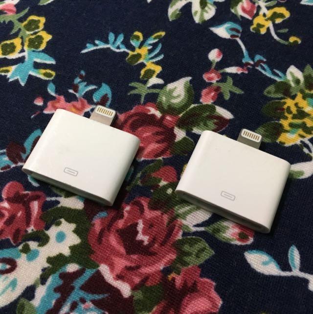 Apple iPhone iPad lightning 對 30-pin 轉接