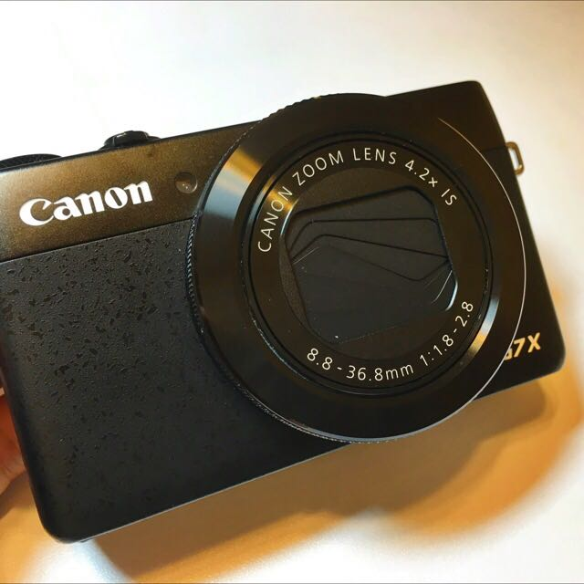 Canon Powershot G7x 保固內9.999999新/螢幕可翻轉,可自拍