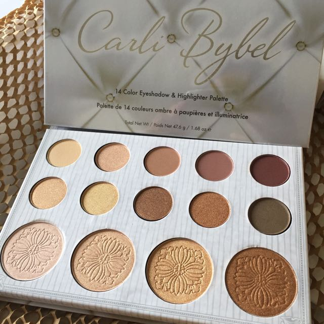 89569cfe1d308 Instock Carli Bybel Bhcosmetics Eyeshadow & Highlight Palette ...