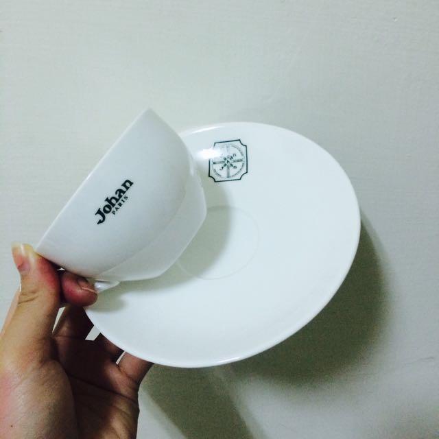 Johan 小瓷杯盤組